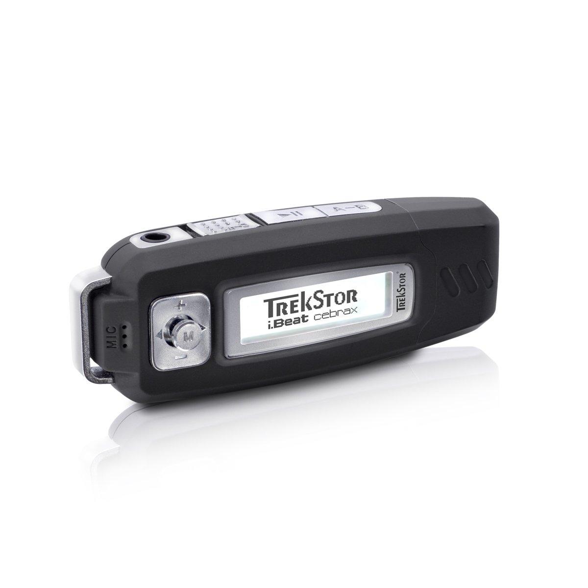 Trekstor i.Beat Cebrax 2.0 - Reproductor MP3, 4 GB: Amazon.es: Electrónica