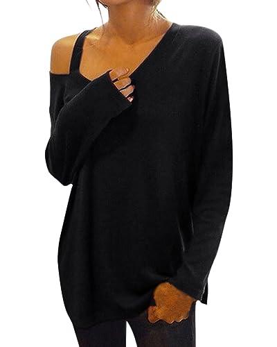 ZANZEA Blusa Camiseta Casual Elegante Oficina Verano Playa Mangas Largas para Mujer