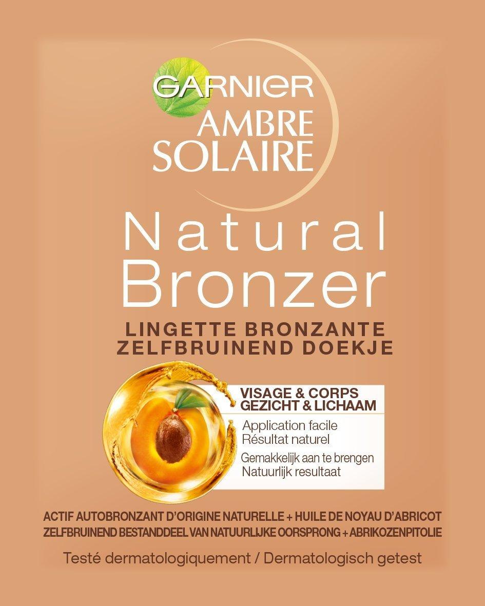Garnier Ambre Solaire Zelfbruiner 5.6ml - toallitas autobronceadoras (Cara, Alemania): Amazon.es: Belleza