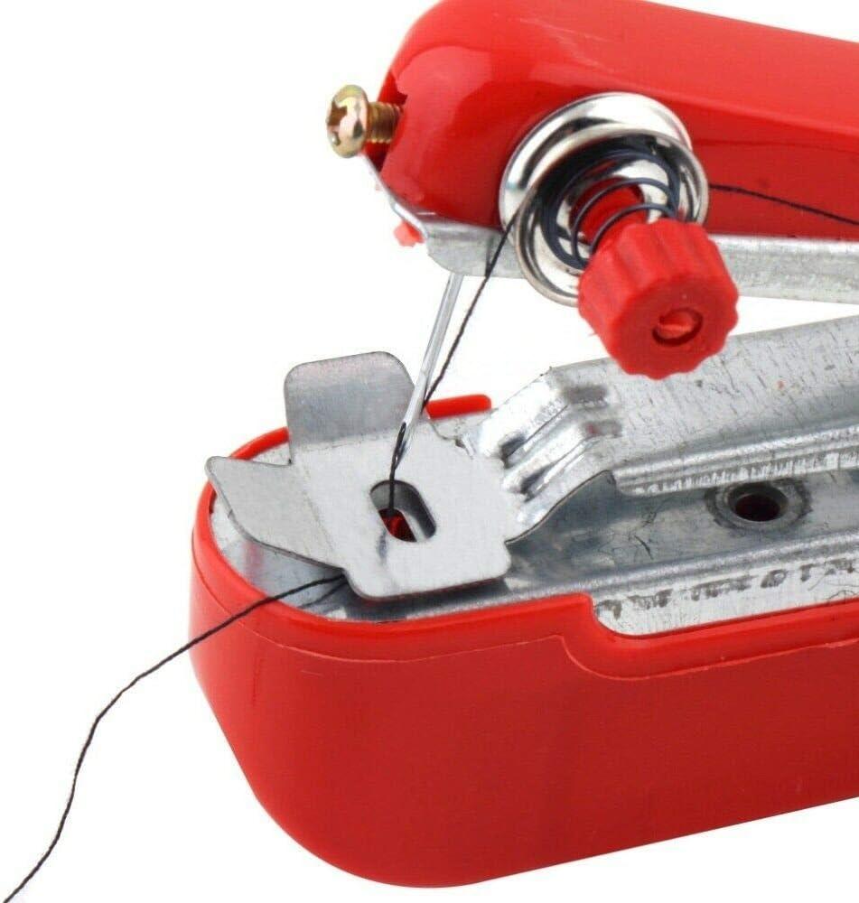 tissu pour enfants v/êtements voyage et travaux manuels Mini machine /à coudre Powertool Machine /à coudre portable petite machine /à coudre compacte pour tissu utilisation /à la maison
