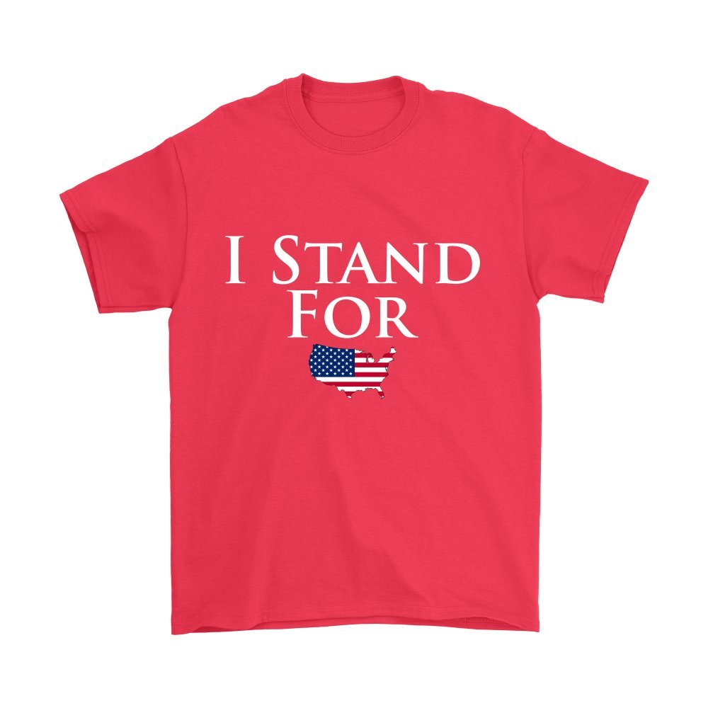 I Stand for America Patriotic T-Shirt-Awarplus