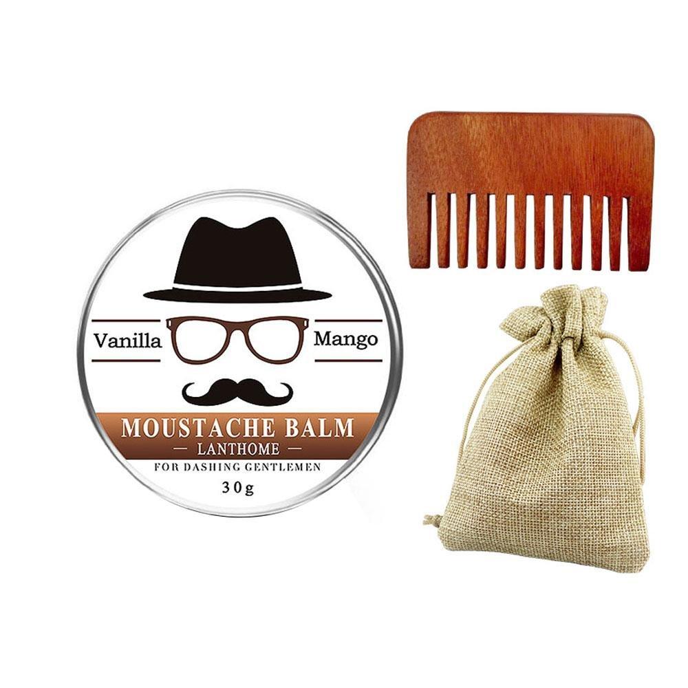 Beard Balm With Comb