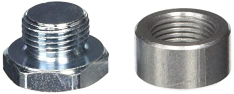 Innovate Motorsports 3736 O2 Oxygen Sensor Stainless Steel Bung /& Plug Kit