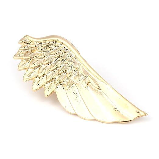 Xuniu Men Tie Clip, Alas de ángel Corbata Tie Bar Broche Clip ...