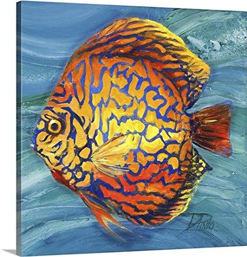 Patricia Pinto Premium Outdoor Canvas Wall Art Print entitled Vibrant Sea Life IV