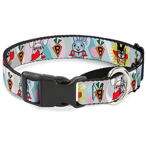 17222c3ebf1a Amazon.com   Buckle Down Bunny Superhero Multi Pastel Martingale Dog ...