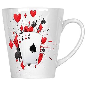 Casino Wave Poker Black Jack Cartas Rojo Rojo Sangre 340 ml ...