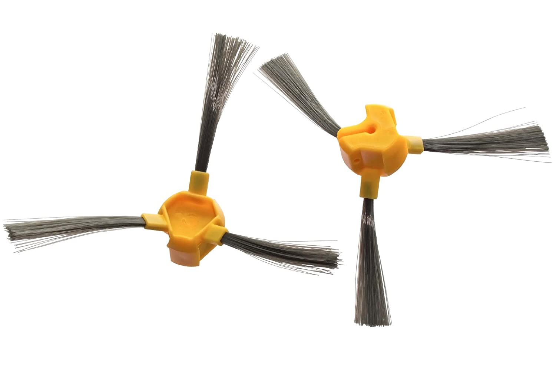 vhbw Set de cepillos Laterales de Recambio para Ecovacs Deebot D66, D68, D77. VHBW4251156557375