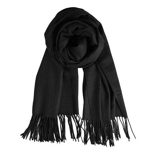 8896a98e2 QBSM Women Men Black Winter Pashmina Scarf Formal Wedding Party Evening  Dresses Shawls and Wraps