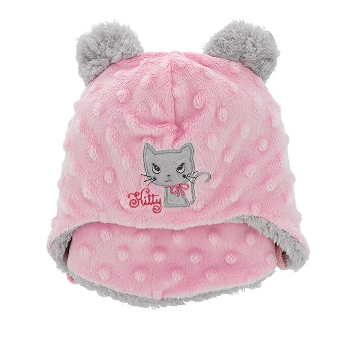 34c222cf166 Baby Girl Hat   Scarf Infant Girls Set Winter Size 6-24 mths 2-3 Years   Amazon.co.uk  Clothing
