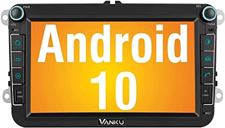 Vanku Android 10 Autoradio Für Vw Radio Mit Navi 16gb Elektronik