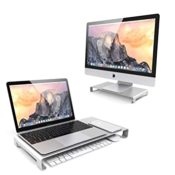 WULAU Soporte Monitor, Soporte de Aluminio para Laptop ...