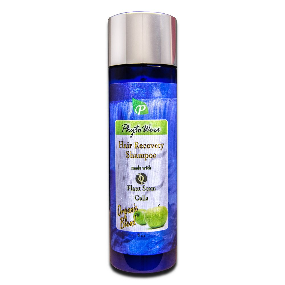 PhytoWorx Organic Hair Loss Shampoo | Color Safe With Plant Stem Cells for Hair Recovery and Regrowth PW10