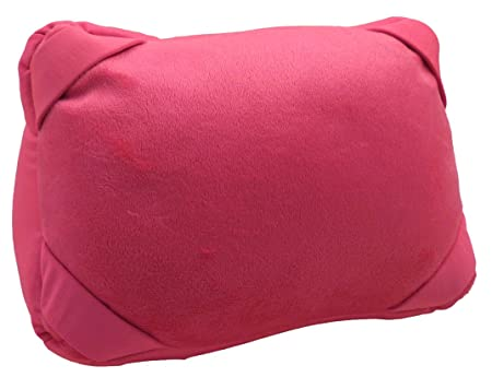 Pink Pillow Holder for iPad Mini Samsung Galaxy Tablet Travel Pillow