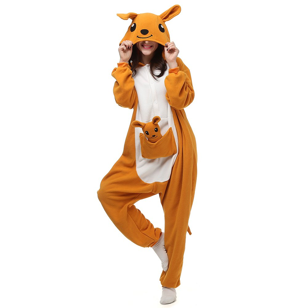 Pigiama Adulti Animali Cosplay Costume Carnevale Halloween Onesie