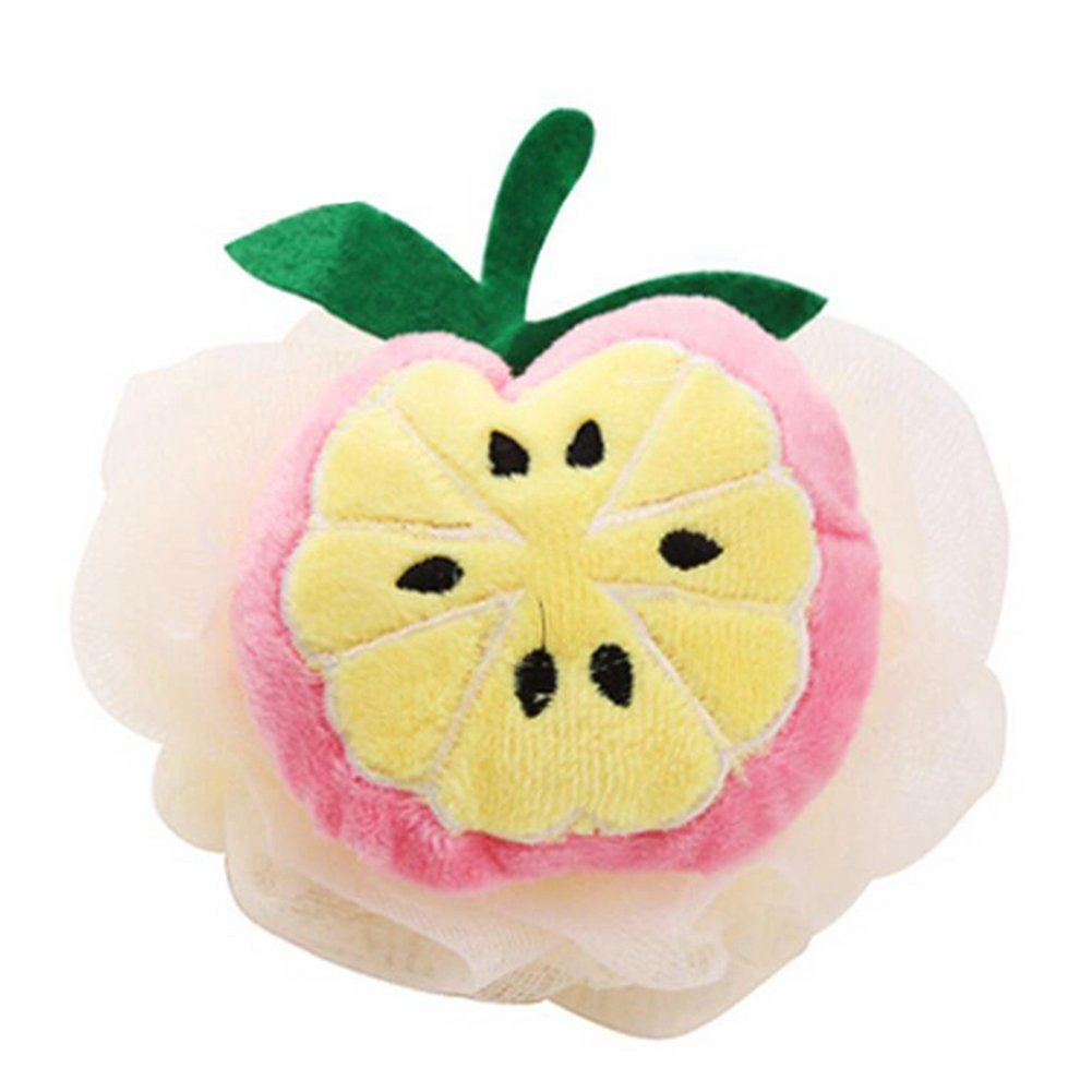 CHIC*MALL Bathing Accessories Color Fruit Style Bath Sponge (Mango)