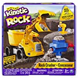 Kinetic Rock-Rock Crusher Toy Kit with Construction Tools, Multicolor