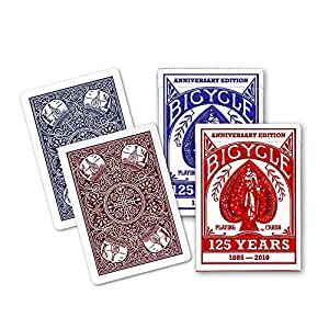 MMS 125 year Anniversary Bicycle deck (6 pack mixed) by USPCC - Trick