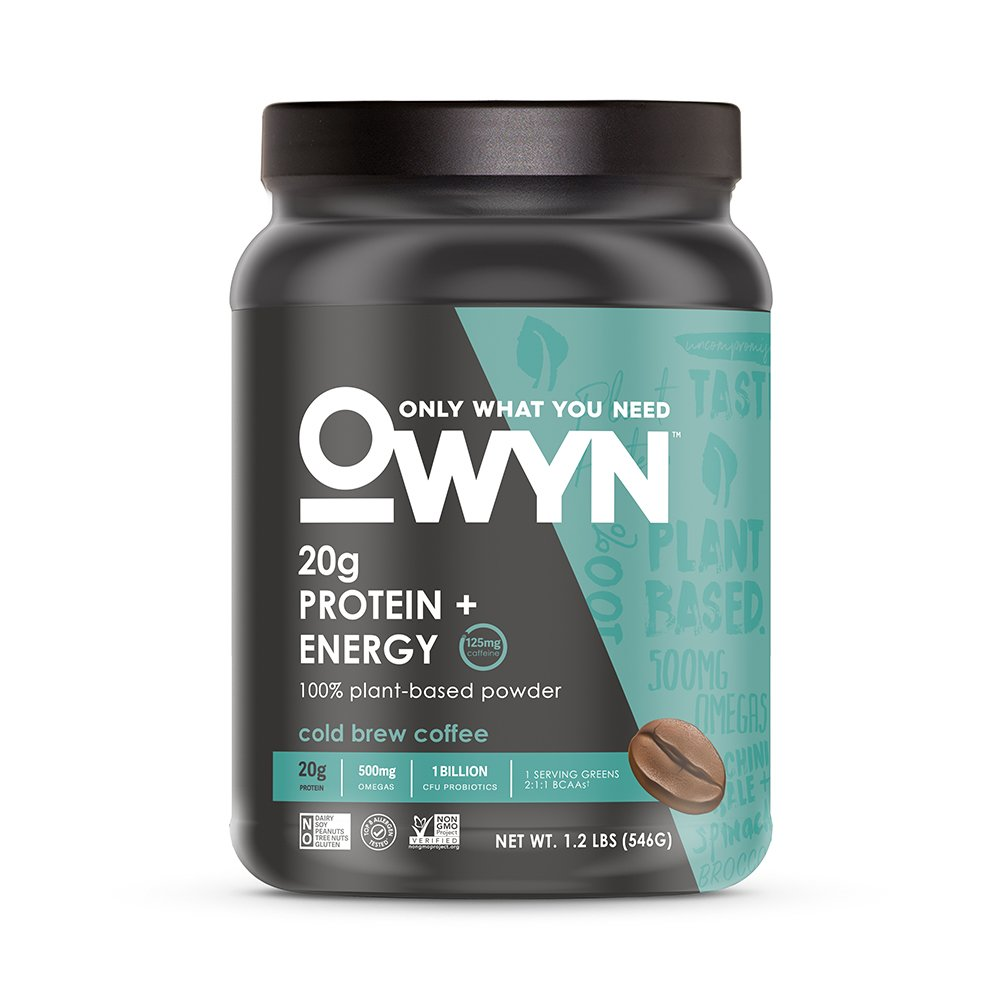 Amazon.com : OWYN Only What You Need 100% Vegan Plant-Based Protein ...
