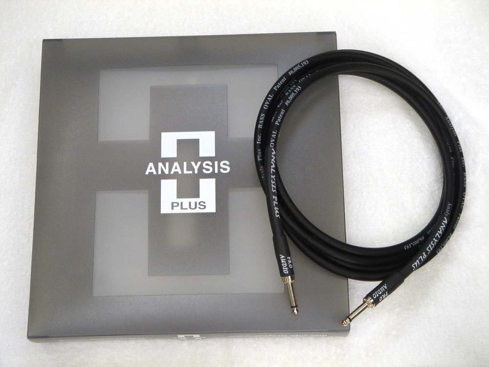 ANALYSIS PLUS アナリシスプラス / Instrument Cable BASS OVAL 2.5m SS   B00UN5LV6O