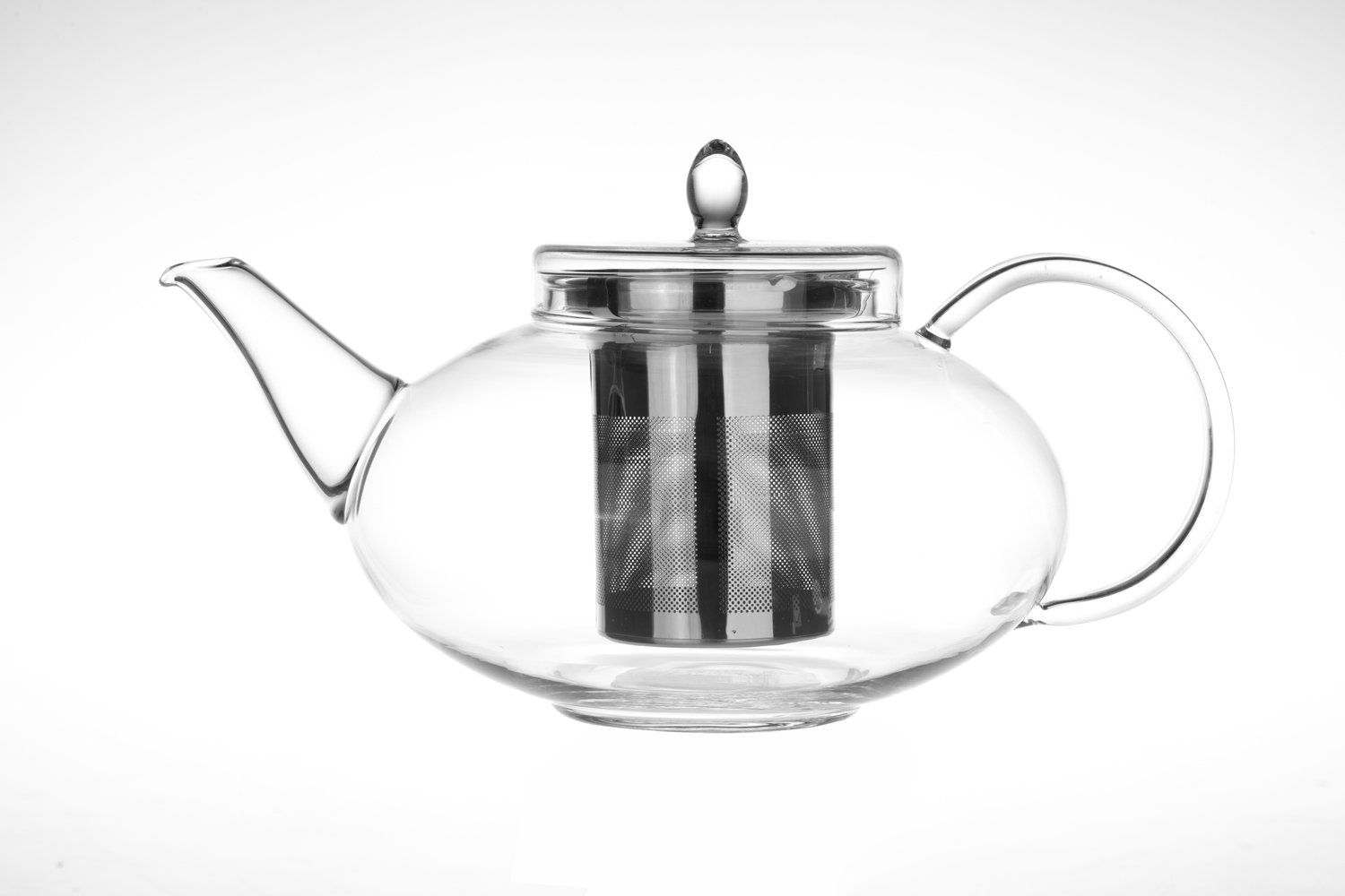 Glass Teapot Harmony, 42oz/1242ml with Tea Warmer Cozy Lead Free Special Glass No Drip by Tea Beyond by Tea Beyond (Image #2)