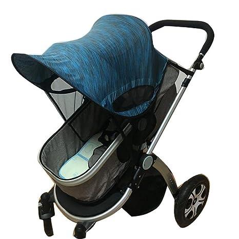 Cochecito de bebé Universal sombrilla Ray Shade Pram cubierta de protección UV, Weather Shield,