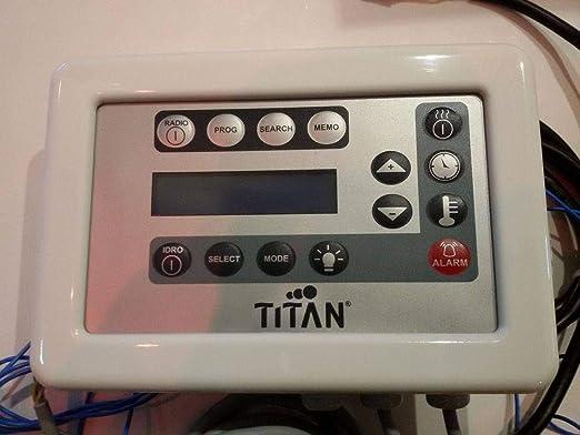 Titan Teclado para mv-tek mampara de Ducha Basic: Amazon.es: Hogar