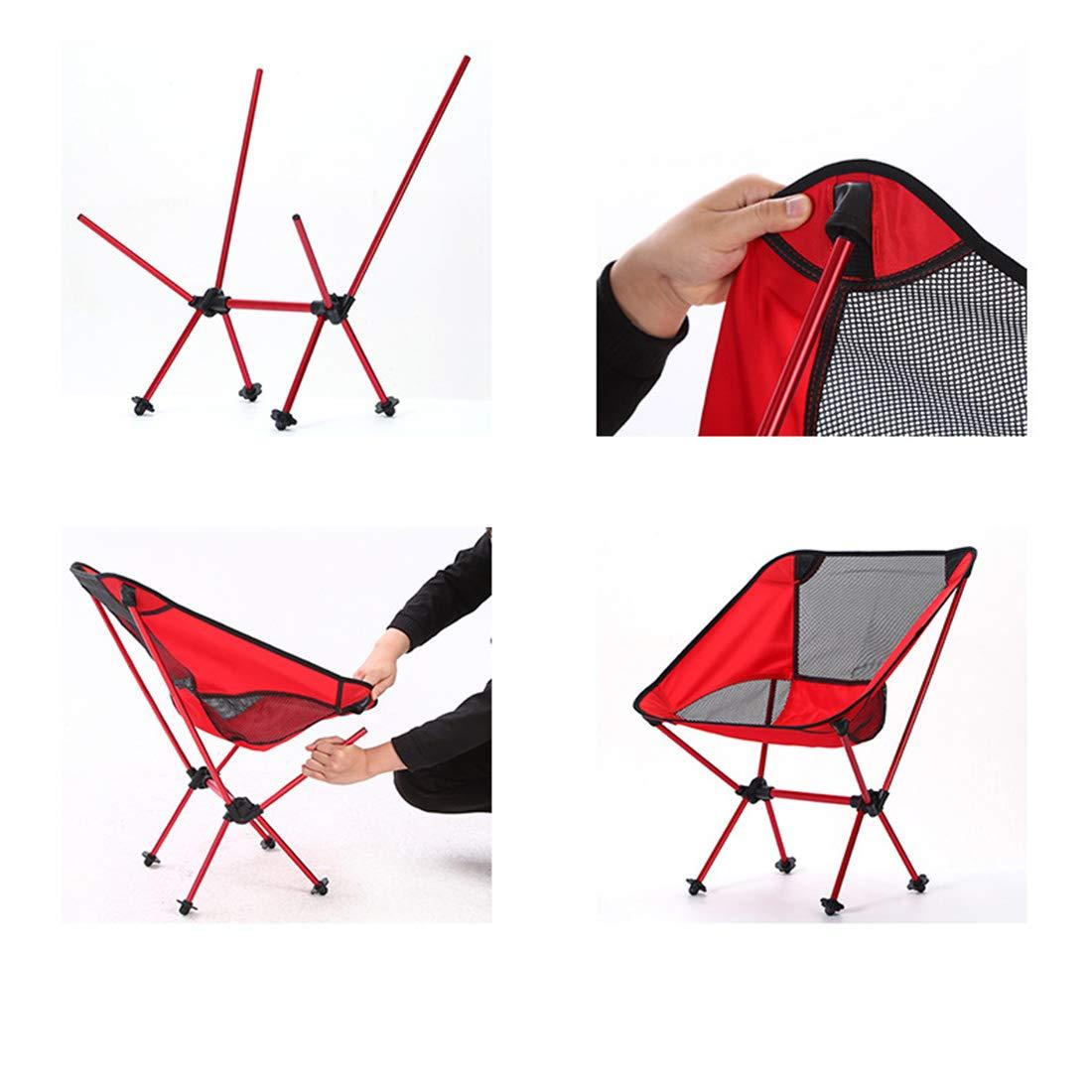 WEATLY Gartenstuhl Klappstuhl Moon Stuhl Mobiler Stuhl Freizeitstuhl Ultraleicht Praktisch zum Tragen
