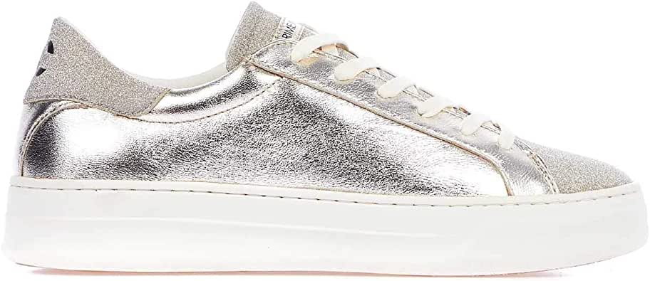 Crime London Luxury Fashion Womens 255140126 Silver Sneakers | Spring Summer 20