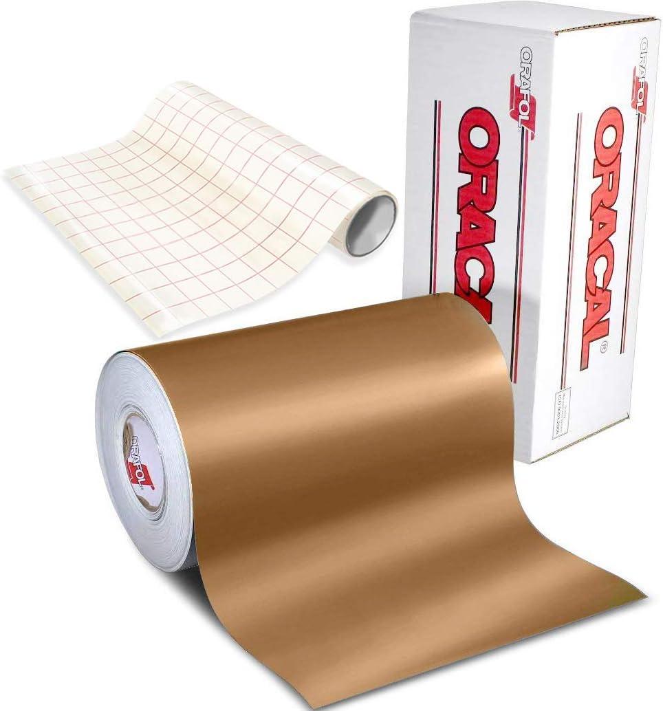 ORACAL 631 WHITE Matte Vinyl 12inches x 10 feet Roll