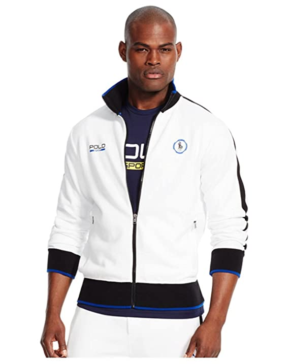 Polo Ralph Lauren Mens Interlock Sport Track Jacket at Amazon Men\u0027s  Clothing store: