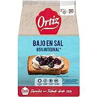 Ortiz Pan Tostado Bajo Contenido de Sal