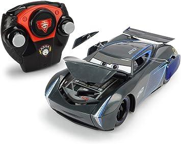 Majorette – Cars 3 Crash 1/24 Coche Jackson Storm, 7/213084019, Negro: Amazon.es: Juguetes y juegos
