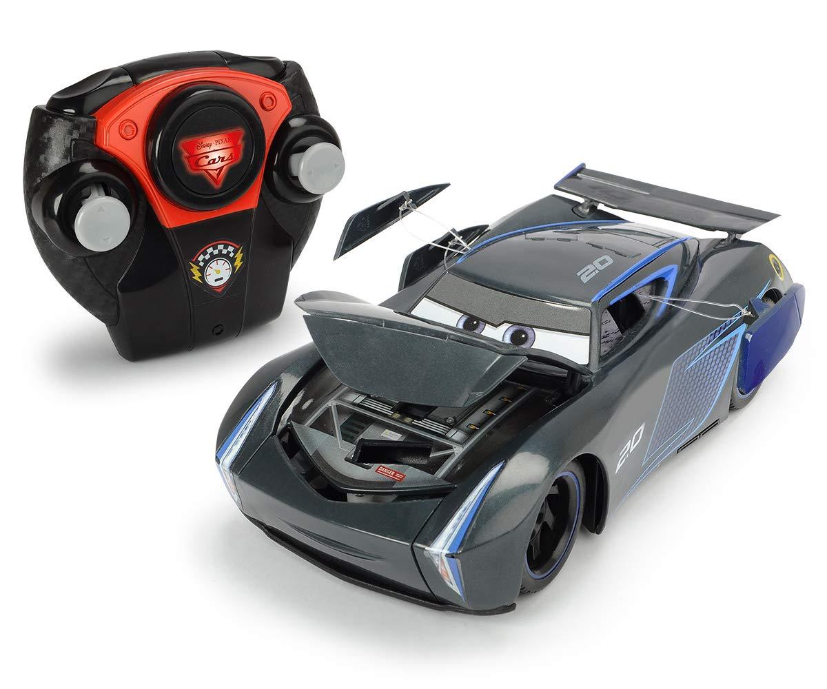 Majorette 7/213084019 Cars 3 Crash 1/24 Car Jackson Storm Black