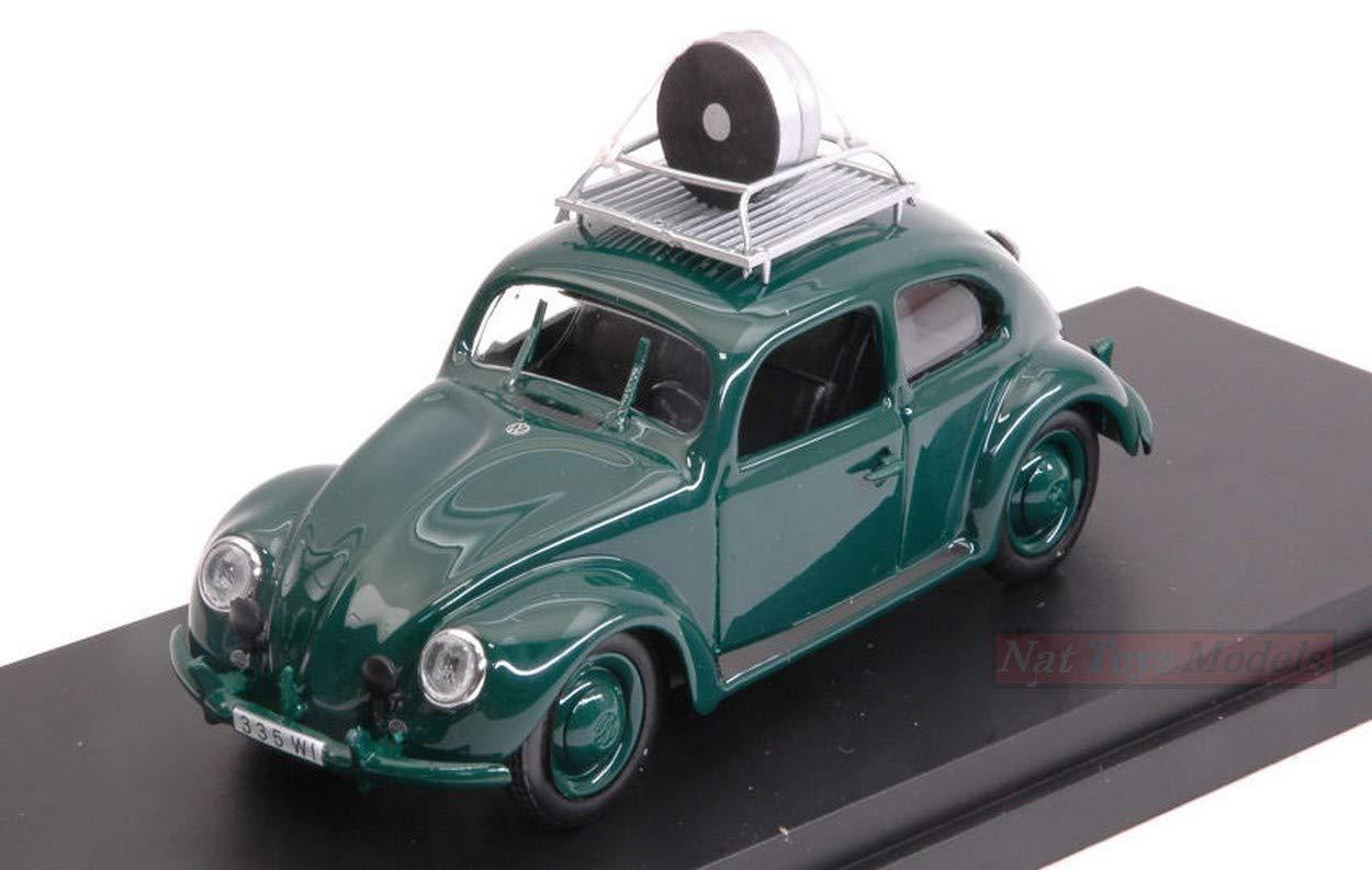 Rio RI4556 VW MAGGIOLINO Wiesbaden Police Speed Control 1957 1:43 Die Cast Model