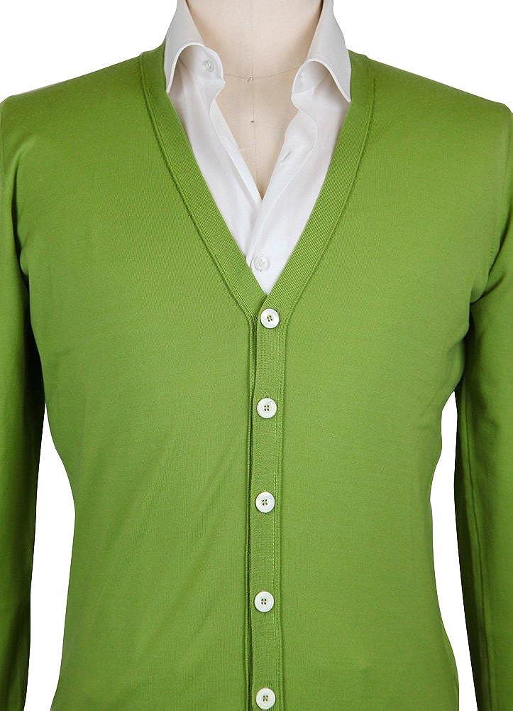 Cesare Attolini New Green Sweater