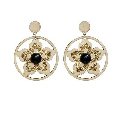 58876a10c00 Amazon.com: Fashion Earrings, Paymenow Women Girls Wood Geometric ...