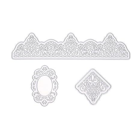 Metall Schneiden Schablonen die dekorative Prägung Lace DIY Handwerk Machen