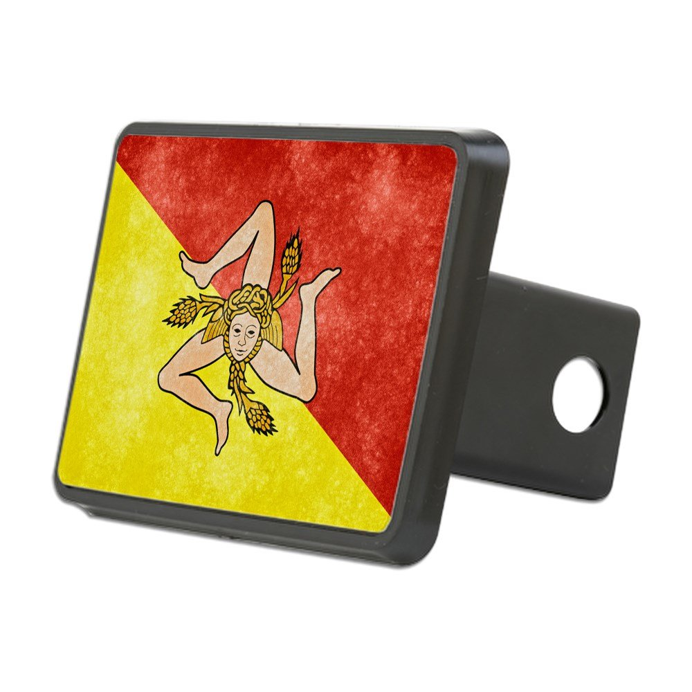 Trailer Hitch Cover Sicily Flag Truck Receiver Hitch Plug Insert CafePress