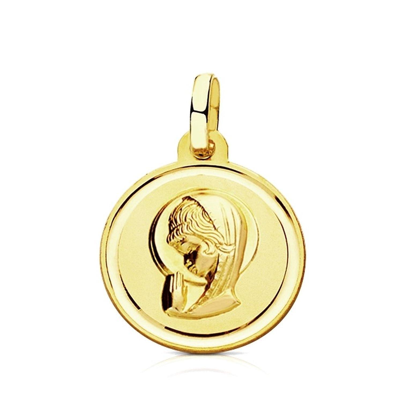 Resultado de imagen de medalla  vintage de la virgen niña