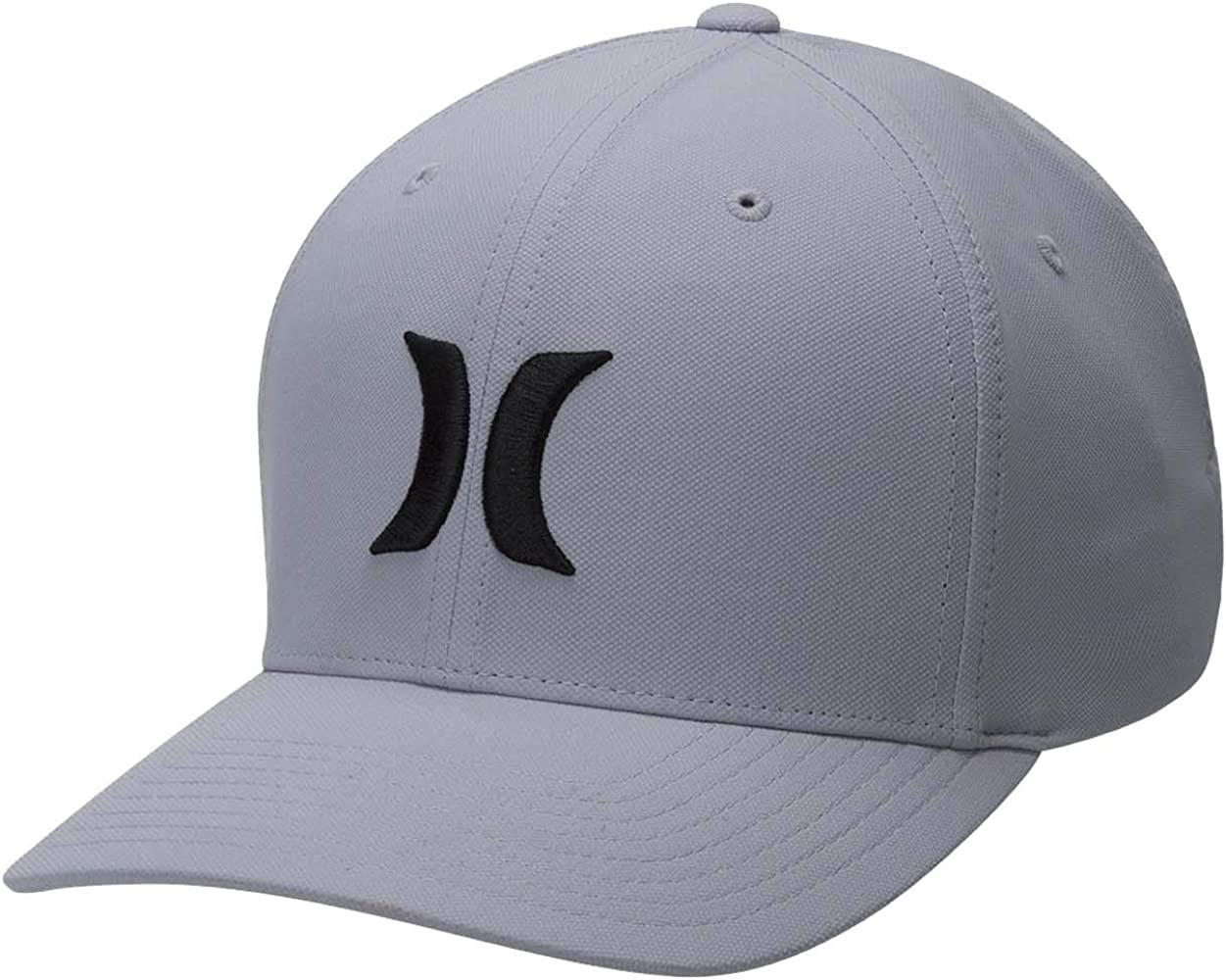 Hurley M Dri-Fit One&Only 2.0 Hat Gorra, Hombre, Black/Dark Grey ...