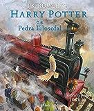 capa de Harry Potter e a Pedra Filosofal - Edição Ilustrada