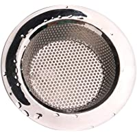 Vosarea 5PCS Kitchen Sink Strainer Basket Catcher Stainless Steel Drain Filter Sink Tub Drain Stopper for Bathroom (Size 7.5CM)