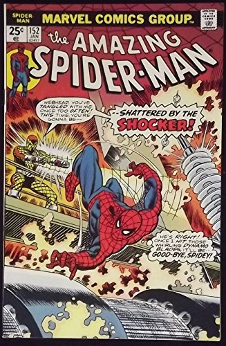 AMAZING SPIDER-MAN #152 VF+ SHOCKER APPEARANCE