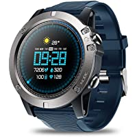 MOGOI Zebeze Vibe 3 Pro Smart Watch, Bluetooth Fitness Tracker with Heart Rate Monitor IP67 Waterproof Sports Smart Fitness Band with 1.3 in IPS HD Touch Screen Smartwatch for Android/iOS