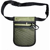 Nurse Pocket Pouch Quick Pick Portable Waist Purse Bag Nurse Tool Bag 2 Sided - 8 Pocket Long Adjustable Belt (Army…