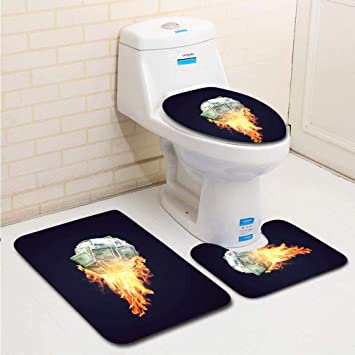 Family Dollar Toilet Seat.Amazon Com Family Bathroom Set Of 3 Bathroom Rug Contour