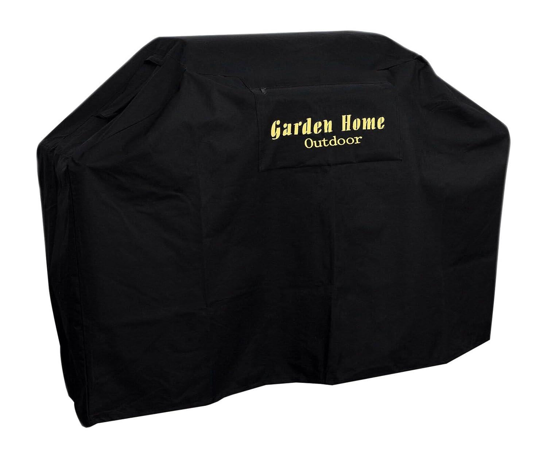 Garden Home Outdoor 617037063672 Heavy Duty Grill Cover, Black, 64'' L