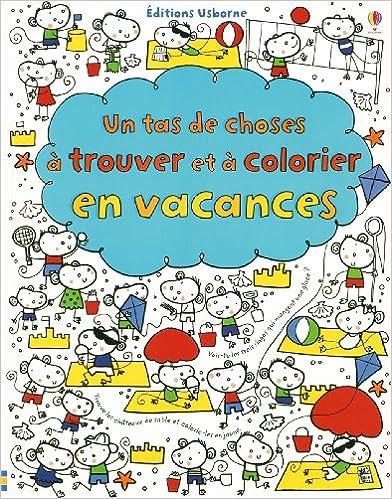 Livres Un tas de choses à trouver et à colorier en vacances epub, pdf