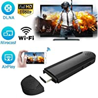 WiFi Display Dongle, iBosi Cheng Wireless Display Receiver for iOS Android Smartphones/Windows/ MacBook to HDTV Projector